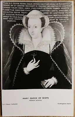 Mary Queen of Scots Postcard - D.E. Bower Collection - Chiddingstone Castle