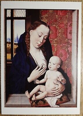 Bouts (The Virgin and Child) Postcard - National Gallery Publications No:1705