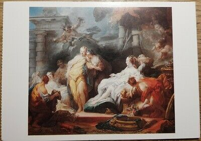 Fragonard (Psyche showing Sisters Gifts from Cupid) Postcard - National Gallery