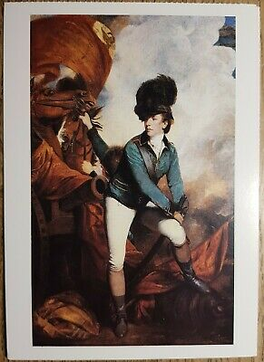 Reynolds (General Sir Banastre Tarleton) Postcard - National Gallery Pub No:1518