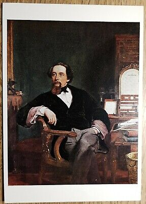 Frith (Charles Dickens at Tavistock House) Postcard - Victoria and Albert Museum