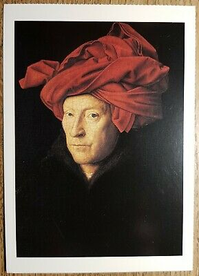 Eyck (A Man in a Turban) Postcard - National Gallery Publications No:1732