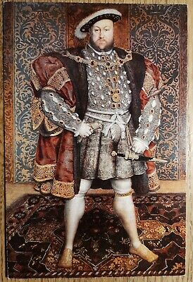 Henry VIII By Holbein Postcard - Belvoir Castle - English Life Publications Ltd