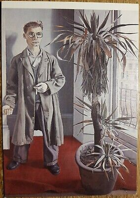 Lucien Freud (Interior Paddington) Postcard - Walker Art Gallery Liverpool