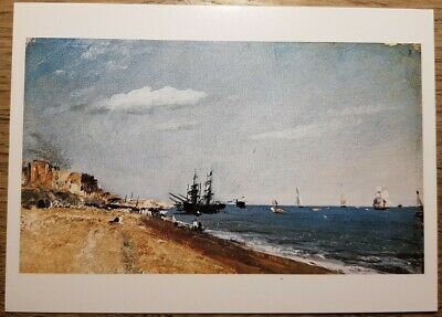 Constable (Brighton Beach with Colliers) Postcard - Victoria and Albert Museum