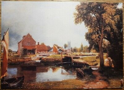 John Constable (Dedham Mill, Essex) Postcard