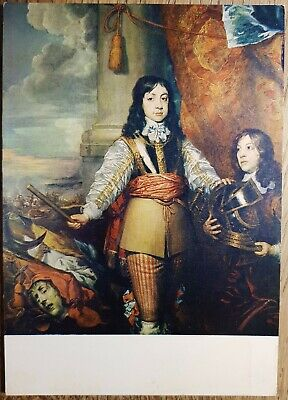 Charles II As A Boy Postcard - Scottish National Portrait Gallery