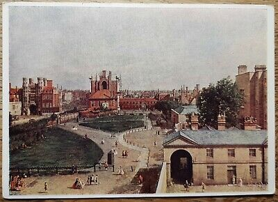 Canaletto (Whitehall From Richmond House) Postcard - Medici Society P.C. 941