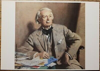 David Lloyd George, 1st Earl Postcard - National Portrait Gallery