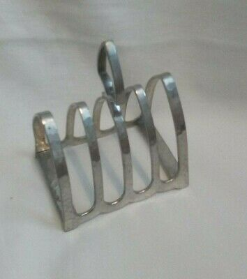 "Vintage ""Craftsman Pewter""  Toast Rack"