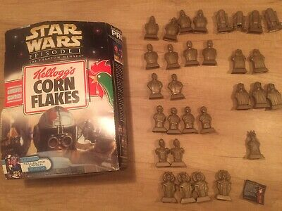 30 Kellogg's Star Wars Linited Edition Collectors Figures And Box