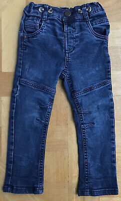 Denim jeans by St Bernard ,Dunnes Stores Stretch Dark Blue age  2-3 excellent Q