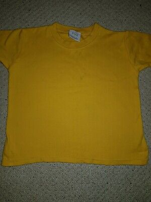 Fred And Noah Yellow Tshirt 2-3