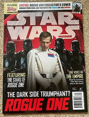 Star Wars Rogue One (A Star Wars Story) Dark Side Special Edition Movie Magazine