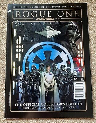 Star Wars Rogue One Dark Side Special Edition Behind The Movie Magazine