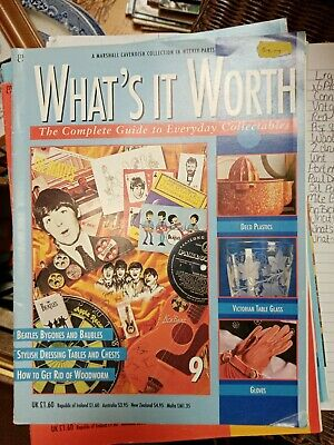 Whats It Worth Magazine 9. Collectable Marshall Cavendish Weekly.