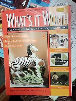 Whats It Worth Magazine 8. Marshall Cavendish Weeklt Collectable