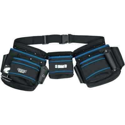 Draper Tools Double Pouch Tool Belt Lightweight Durable Stable Smooth Pouch