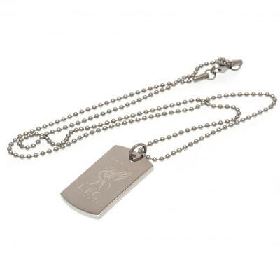 Liverpool Gifts - Champions Of Europe Engraved Dog Tag & Chain