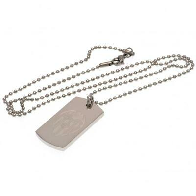CF Valencia Gifts - Engraved Dog Tag & Chain
