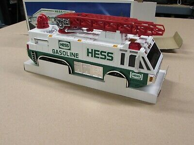 1996 Hess Emergency Truck with Ladder and Lights NIB