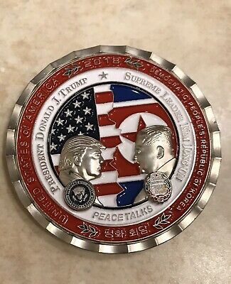 korea Peace Talkes Summit Coin