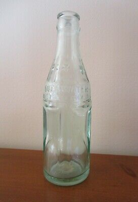 Vintage Soda Water Coca Cola Green Glass 6 Oz Staight Side Bottle Milwaukee