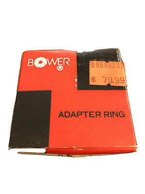 Bower Lens Adapter Ring 40.5-46 MM New in Box