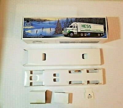 Hess Truck toy Tractor Trailer original box with inserts box only no truck 1987
