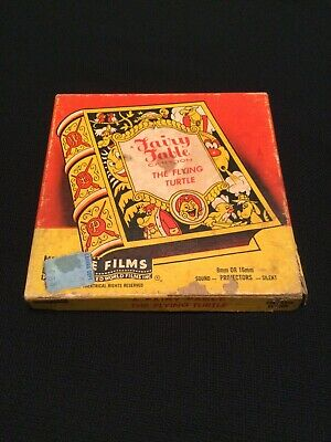 VTG 8mm 16mm Film A Fairy Fable Cartoon The Flying Turtle Castle Films No. 533