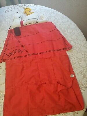 Vintage Snoopy And Woodstock Shoe Bag Organizer