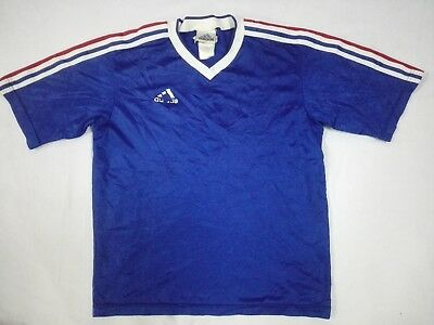 Vintage 1990s Adidas Equipment Trikot Jersey T Shirt Three Stripes 90s Soccer