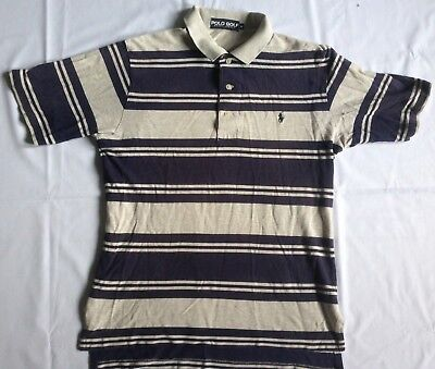 POLO GOLF RALPH LAUREN T SHIRT M Striped