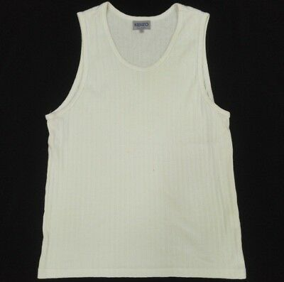 KENZO Homme Sleeveless T Shirt Size 2 Fits Small Inner Wear
