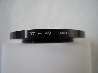 Metal Step-up Ring Adapter 37mm - 49mm Made in Japan