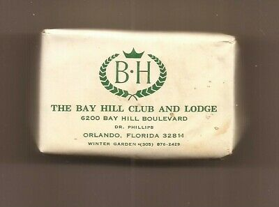 Bay Hill Club And Lodge, Mini In-Room Soap = Dr Phillips, Olrando Florida