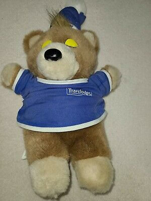 Travelodge SLEEPY Bear 1997 Stuffed Plush