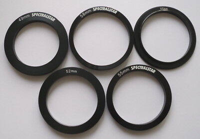 1 For Cokin filter holder adapter rings in 49mm, 52mm, 55mm one ring, NEW, A1