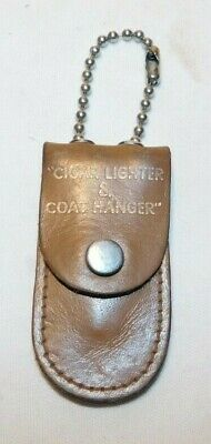 RARE old Hotel Langenfeld Centralia IL Advertising Cigar Lighter & Coat Hanger