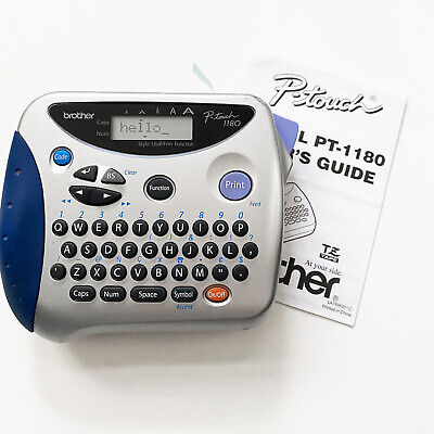 Brother P-Touch 1180 Electronic Labeling System Label Maker WITH TAPE