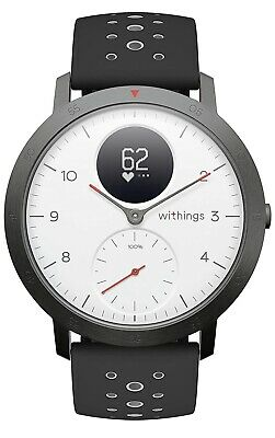Withings Steel HR Sport Hybrid Smartwatch (40mm) - White