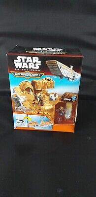 RESISTANCE T-70 X-WING FIGHTER Micro Machines Star Wars 2015 WINGS CLOSED 8
