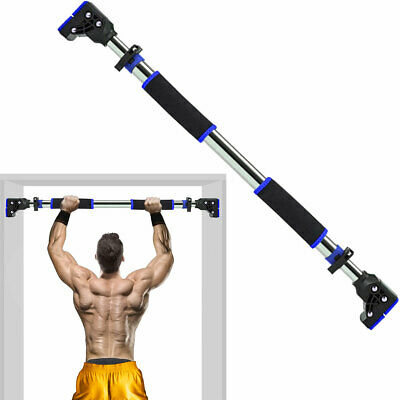 Home Workout//Exercise METIS Doorway Pull Up BarADJUSTABLE CHIN UP BAR