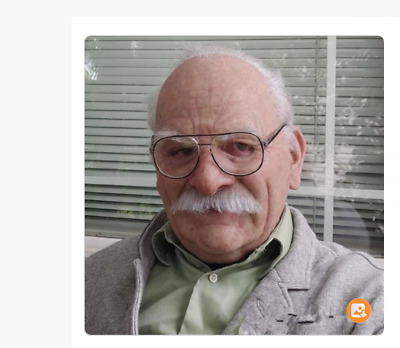 Old Man Mask Halloween Face Cosplay Party Wrinkles Costume Scary ...