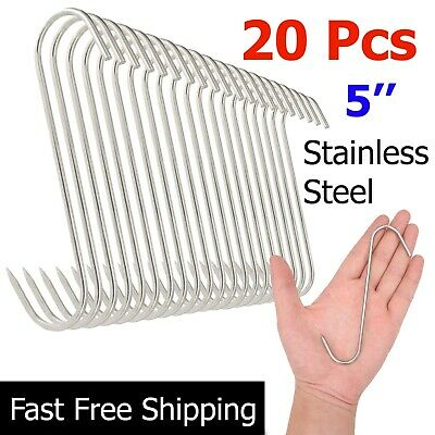 Hooks Stainless Steel Processing for Butchers Hunters Meat Hanging and Smoking for sale online