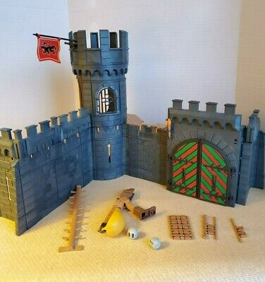 Playmobil Knights Ruin 3274 w Box and Instructions   Vintage /'00