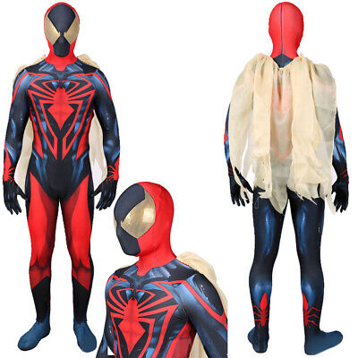 Details about  /2099 Ultimate Spider-Man Jumpsuit Spiderman Cosplay Costume For Adult /& Kids Cos