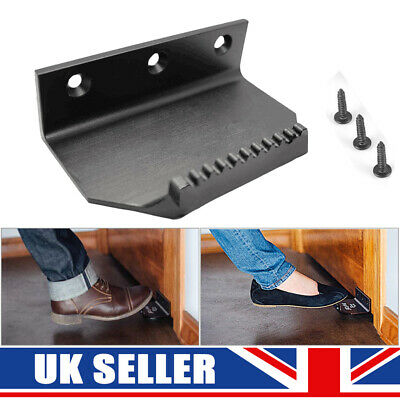 Touchless Foot Operated Door Opener Hygienic Sanitary Handle UK Step Toe Pull