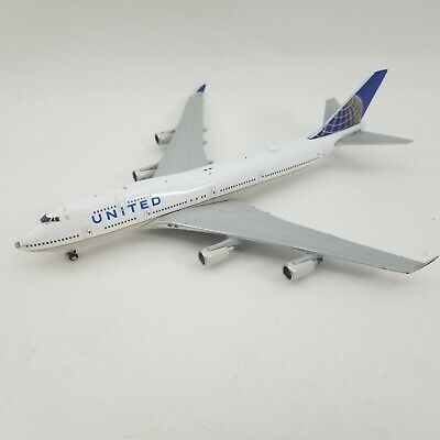 Gemini Jets 1:400 United Airlines Boeing 747-400