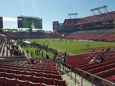 Two 2 Tampa Bay Buccaneers Season Tickets Sec 315 Row C On Aisle 3 595 00 Picclick